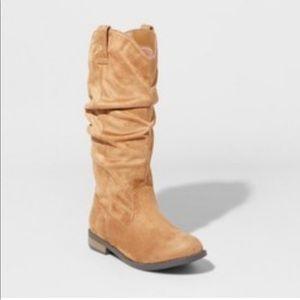Cat & Jack Tall Scrunch Fashion Boots